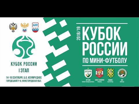 Оргхим - Элекс-Фаворит. Кубок России 1 этап.