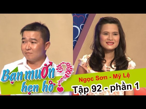 Gặp bạn gái - chàng trai reo lên 'A! VỢ ĐÂY RỒI' | Ngọc Sơn - Mỹ Lệ | BMHH 92 😱