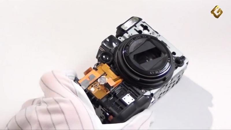 Как разобрать фотоаппарат Canon PowerShot G12