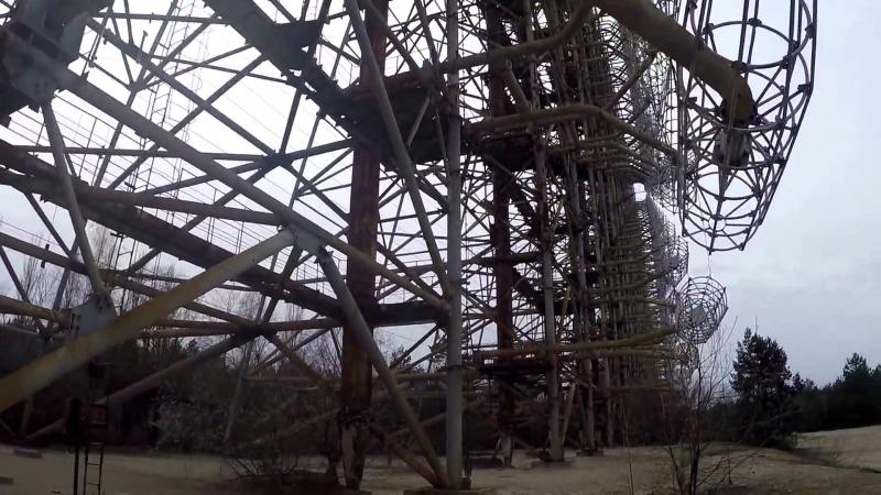 Основание антенны ЗГРЛС Дуга 20160409 ч.2