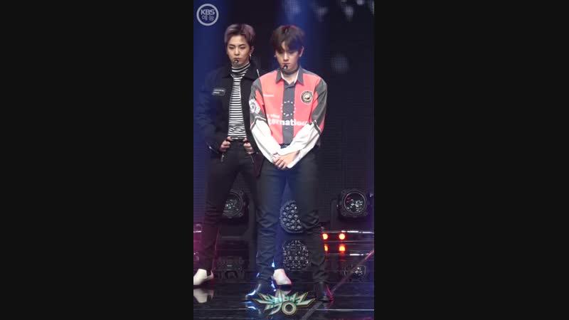FANCAM 181109 EXO Tempo Baekhyun Focus @ Muic Bank