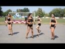 """Девочки в лагере танцуют """"Джентельмен"""""""