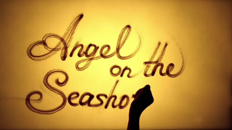 Песочный фильм Ангел на Берегу | Sand art Angel on the Seashoreby Kseniya Simonova (Aylan Kurdi)