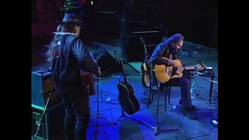 Willie Nelson Neil Young - Are There Any More Real Cowboys? [Live At Farm Aid VI] (24.04.1993)