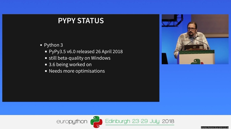 Adventures in compatibility emulating CPythons C API in PyPy – Ronan Lamy