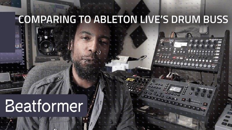 Accusonus Beatformer Thavius Beck: Comparing Beatformer to Ableton Live's Drum Buss