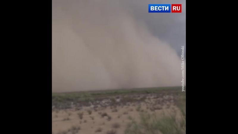 Песчаная буря в Аризоне