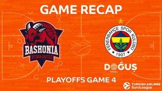 Highlights: KIROLBET Baskonia Vitoria Gasteiz - Fenerbahce Dogus Istanbul. Евролига. Плей-офф, 4-й матч. Обзор. Баскония - Фенербахче