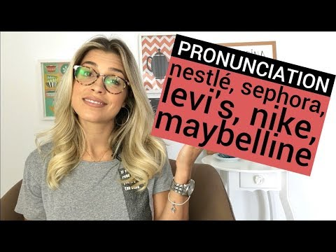 5 Brands You're Mispronouncing in English Pronunciation Eng
