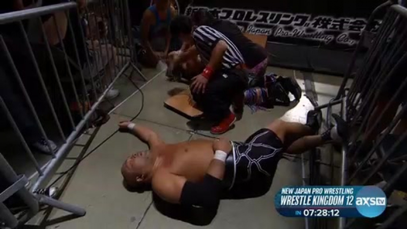NJPWONAXSTV 1.6.18 Wrestle Kingdom Countdown 1