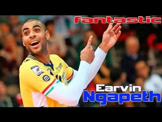 Fantastic actions from Earvin Ngapeth. The best defense.