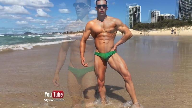 Fitness Model Teen Bodybuilding Peak Week Epic Physique Aussie Morgan Styrke Studio