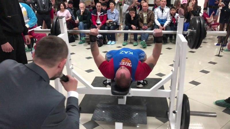 Первый Чемпионат Казахстана по Народному жиму лежа 2018