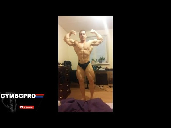 RIPPED BODYBUILDER POSING AT HOME - VERRY HOT AMAZING BODY 2015 5