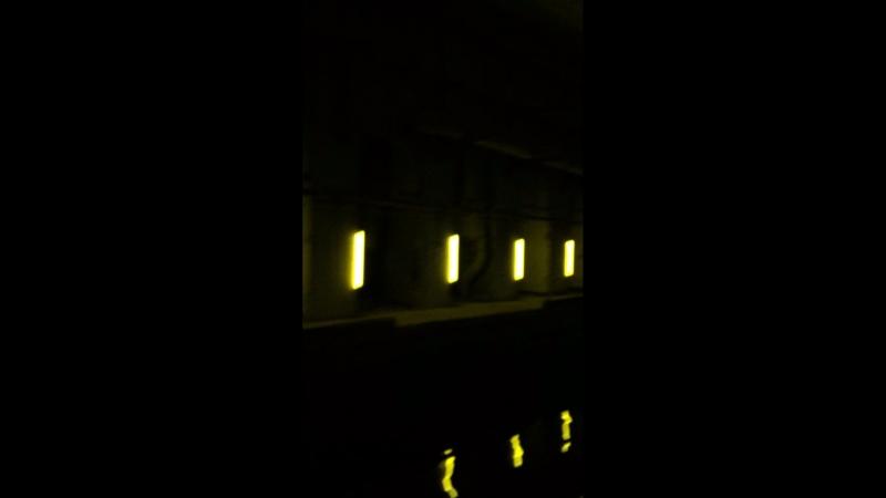 Я и Карина идём по тоннелю с желтым освещением и карина матерится как не в себе