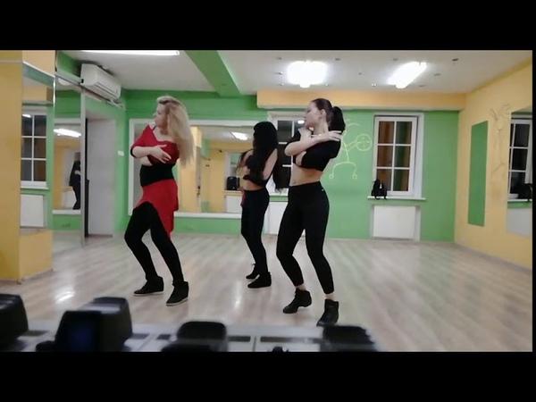 Кизомба LadyStyle с Анной Мельниковой, школа танца Essentia Dance