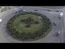 Бульварное кольцо. Трактор, Fabia и автоледи. 29.11.2018. Брест