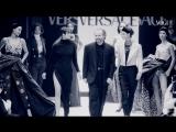Синди Кроуфорд, Наоми Кэмпбелл и Линда Евангелиста на показе Versace AW 1991