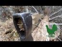 Как насадить топор без клиньев. How to plant an axe without wedges.