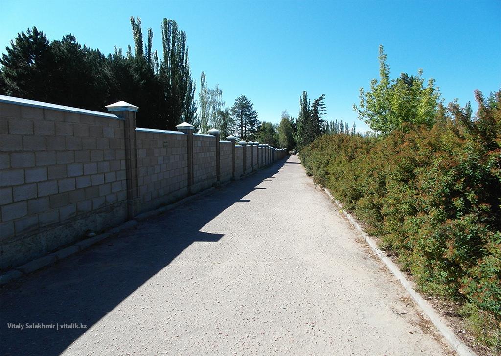 Дорога до пляжа, Иссык-Куль