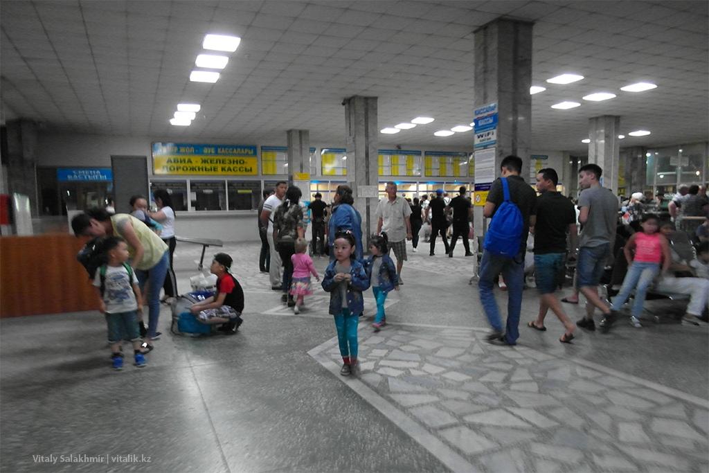 Автовокзал Сайран 2018