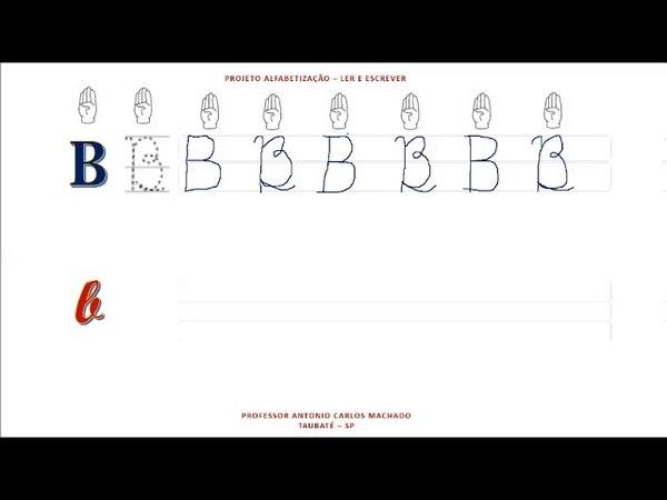 Aula 2 Libras Leitura e escrita do alfabeto Língua Portuguesa