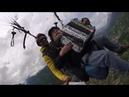 Le baron des Abers saut en parapente Corsica