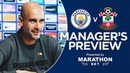 Pep Guardiola previews City v Southampton | PRESS CONFERENCE