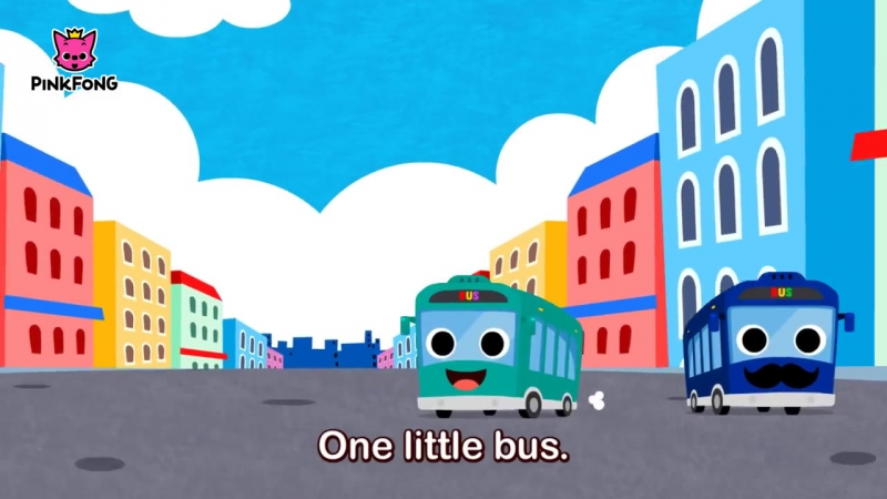 Ten Little Buses Bus Songs Car Songs PINKFONG Songs
