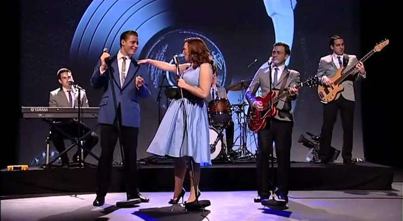 1950s Rock n Roll Tribute Band 50s Explosion- Available from alivenetwork.com