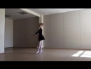 Tsariuk Ballet Class Глиссад сутеню glissade soutenu
