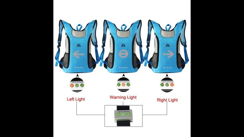 Доступен к заказу! Рюкзаки с светодиодными сигналами! Это ваша безопасность и спокойствие!