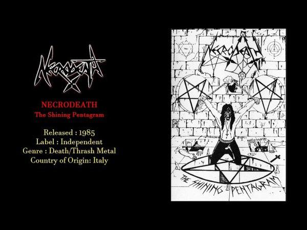 Necrodeath - The Shining Pentagram (1985) Full Demo