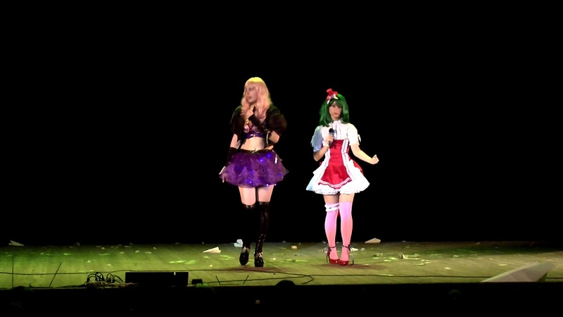 Natsu nami 7 59 No problem Sheryl Nome and Ranka Lee