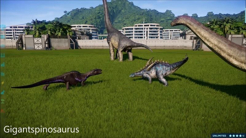 Indoraptor Killing Animations Fallen Kingdom DLC VS Series Jurassic World Evolution