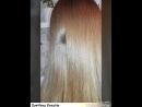Повторное кератиновое выпрямление волос ДО и ПОСЛЕ 😁🔥(только корни отросли)