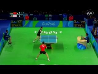 Настольный теннис, Рио-2016