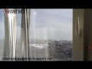 Остекление и утепление лоджии в доме с цельным алюминиевым фасадом в Уфе | Компания ЧИНГИЗ