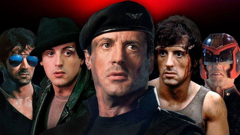 SYLVESTER STALLONE ⭐ Life From 1 To 72 Years Old