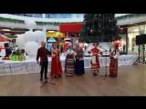 РАЗДОЛЬЕ поёт в Сити Молле в Рождество 7 января 2018 год
