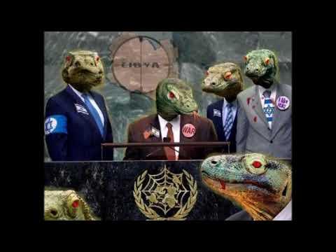 ►Миром правят рептилоиды! Откуда пошли теории заговора о рептилоидах