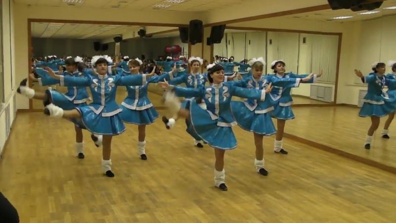 Танец Валенки от Девушек. Открытие сезона 22 сентября Сокольники.