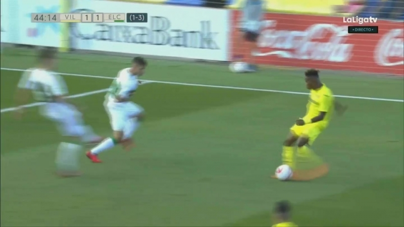 Вильярреал CF Б - Эльче CF, 1-1 (1-3 общий), гол Рубена Меса, голевая Саму Чекууиза