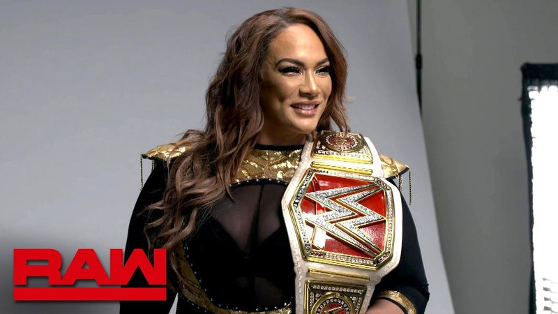 Nia Jax stands for her first photo shoot as Raw Women's Champion: Exclusive, April 9, 2018