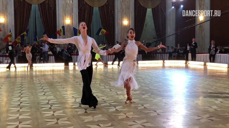 Yaroslav Kiselev - Sofia Philipchuk RUS | WDSF World Championship J2 Ten Dance - Cha-Cha-Cha