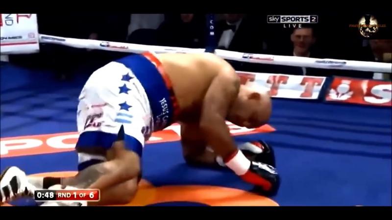 Супер Нокаутер! Непобежденный боксер Профессионал Энтони Джошуа. Лучшие моменты!