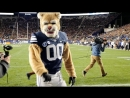 Cosmo the Cougar the Cougarettes Dance BYU Vs Boise St 2017