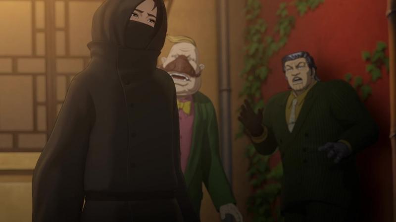 Souten no Ken: Regenesis 12 серия END русская озвучка Jackie-O / Кулак Синего неба: Перерождение 12