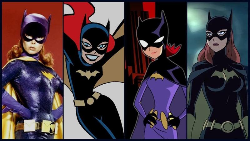 Barbara Gordon (Batgirl/Oracle) Evolution in Cartoons TV (2018)