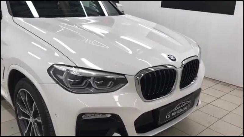 Защита BMW X3 партнёрами из MSK-DETAILING